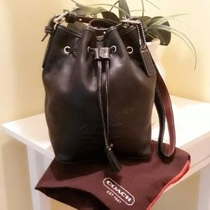 Coach mini boho bag